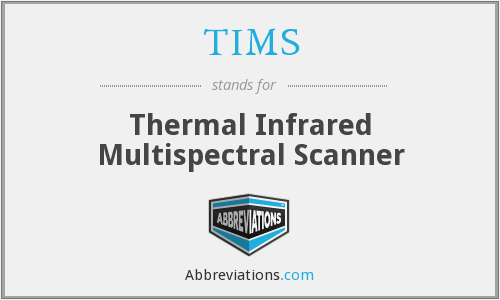 TIMS - Thermal Infrared Multispectral Scanner