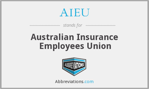 AIEU - Australian Insurance Employees Union