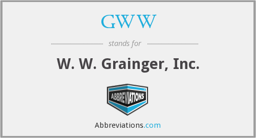 What does GWW stand for?