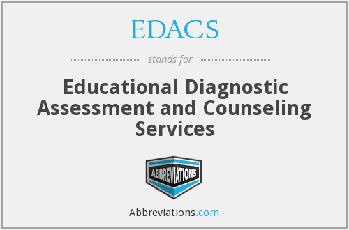 EDACS - Educational Diagnostic Assessment and Counseling Services