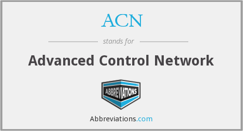 ACN - Advanced Control Network