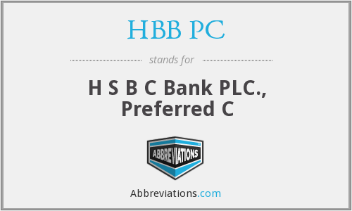 What does HBB PC stand for?