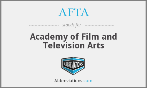 AFTA - Academy of Film and Television Arts