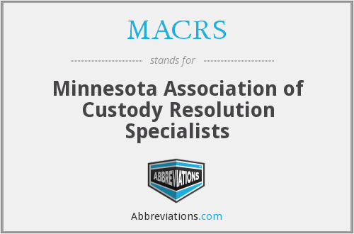 MACRS - Minnesota Association of Custody Resolution Specialists
