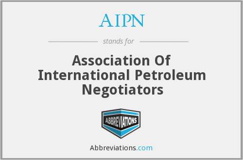 AIPN - Association Of International Petroleum Negotiators