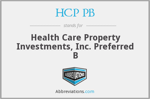 What does HCP PB stand for?