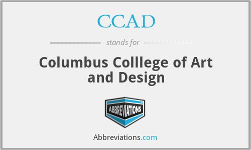 CCAD - Columbus Colllege of Art and Design