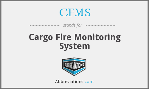 CFMS - Cargo Fire Monitoring System