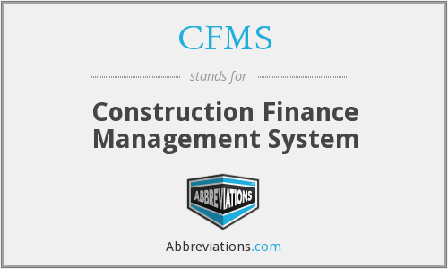 CFMS - Construction Finance Management System