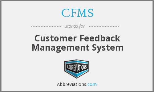 CFMS - Customer Feedback Management System