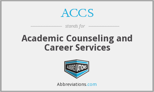 ACCS - Academic Counseling and Career Services