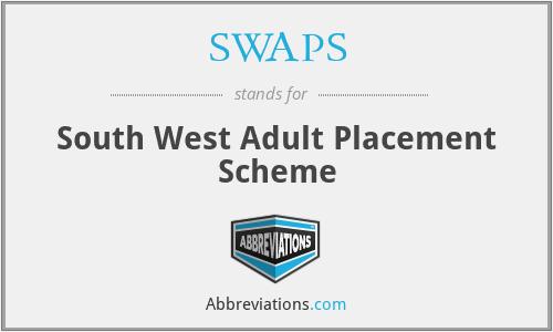 SWAPS - South West Adult Placement Scheme