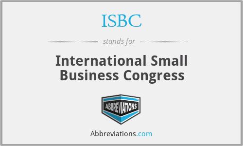 ISBC - International Small Business Congress