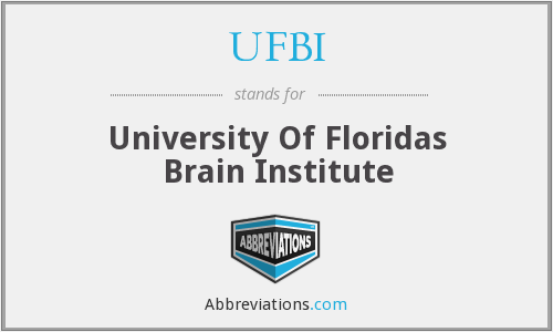 UFBI - University Of Floridas Brain Institute