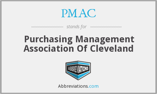 PMAC - Purchasing Management Association Of Cleveland