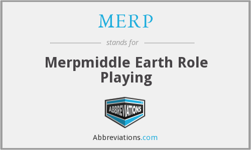 MERP - Merpmiddle Earth Role Playing