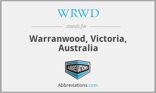 WRWD - Warranwood, Victoria, Australia