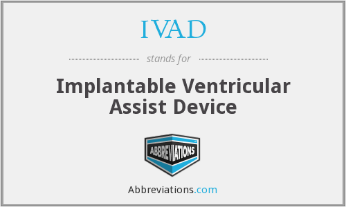 What does IVAD stand for?