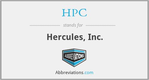 HPC - Hercules, Inc.