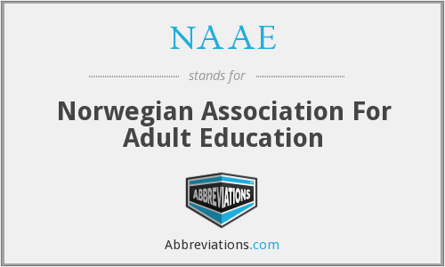 NAAE - Norwegian Association For Adult Education