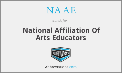 What does NAAE stand for?