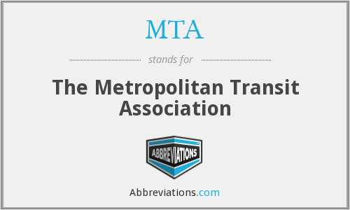 MTA - The Metropolitan Transit Association
