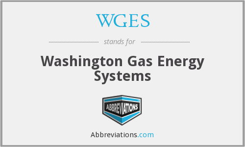 WGES - Washington Gas Energy Systems