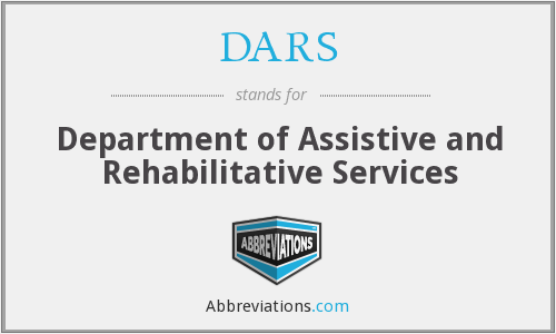 What does DARS stand for?
