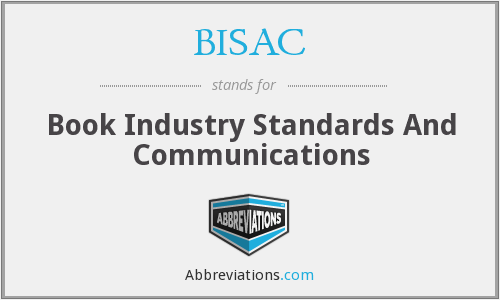 BISAC - Book Industry Standards And Communications