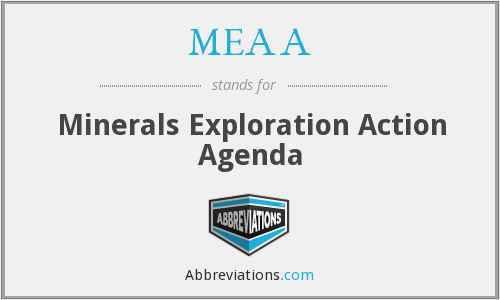 MEAA - Minerals Exploration Action Agenda