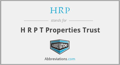 HRP - H R P T Properties Trust