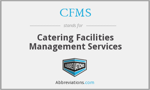 CFMS - Catering Facilities Management Services