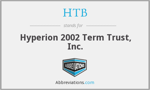 HTB - Hyperion 2002 Term Trust, Inc.