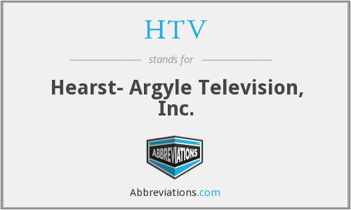 What does HTV stand for?