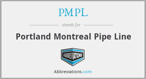 PMPL - Portland Montreal Pipe Line