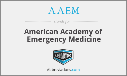 What does AAEM stand for?