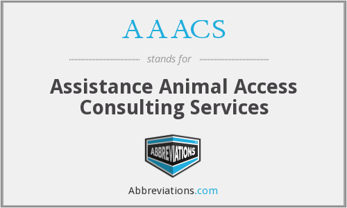 AAACS - Assistance Animal Access Consulting Services