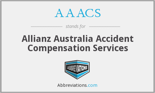 AAACS - Allianz Australia Accident Compensation Services