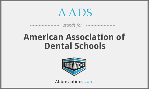 AADS - American Association of Dental Schools