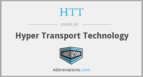 HTT - Hyper Transport Technology