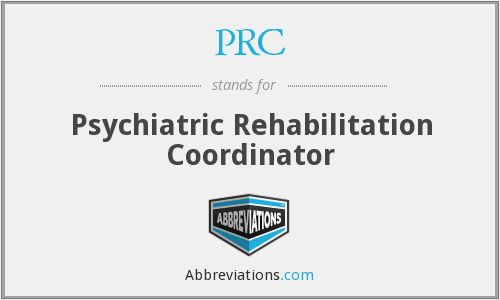 PRC - Psychiatric Rehabilitation Coordinator
