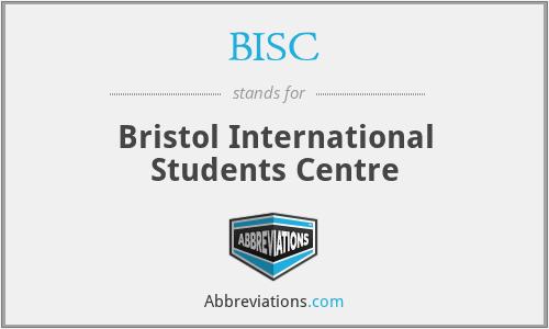 BISC - Bristol International Students Centre