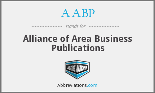 AABP - Alliance of Area Business Publications