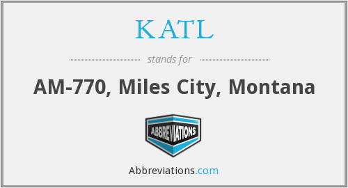 KATL - AM-770, Miles City, Montana