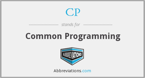CP - Common Programming
