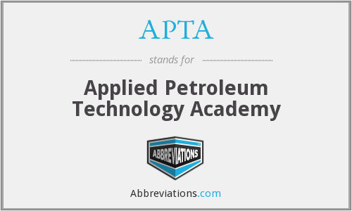 APTA - Applied Petroleum Technology Academy