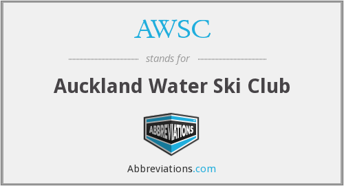 AWSC - Auckland Water Ski Club
