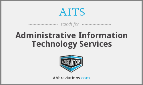 AITS - Administrative Information Technology Services
