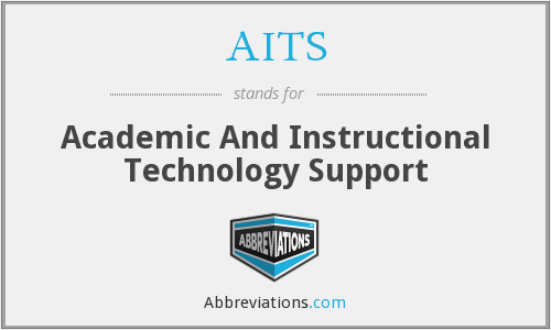 AITS - Academic And Instructional Technology Support
