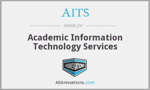 AITS - Academic Information Technology Services